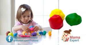 วิธีทำแป้งโดว์ ของเล่นเสริมพัฒนาการสุดฮิตของเด็กๆ