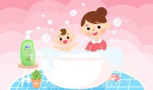 ให้ลูกน้อยอาบน้ำแบบไร้อาการแพ้ด้วยตัวช่วยดีๆ