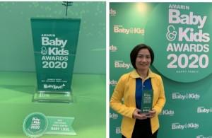 ผ้าอ้อมสำเร็จรูป BabyLove ได้รับรางวัล Mommy's  Choice Award  ให้เป็นสุดยอดแบรนด์ผ้าอ้อมเด็กแบบกางเกงในดวงใจแม่  ปี 2020