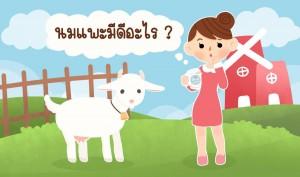 นมแพะมีดีอย่างไร ทำไมถูกใจแม่ๆ