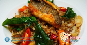 สูตรข้าวผัดกระเพราปลาสลิดกรอบ ง่ายๆแต่ได้ครบรสชาติ