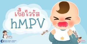 เชื้อไวรัส hMPV เด็กๆ เป็นบ่อย แม่ๆ รู้จักหรือไม่!!!