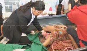 ตื่นเต้น!!!    เจ็บครรภ์คลอดไป รพ. ไม่ทัน สาวท้องคลอดลูกท้ายกระบะ ปลอดภัยทั้งแม่-เด็ก