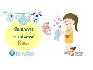 พัฒนาการทารกในครรภ์ 8 เดือน แม่ท้อง 8 เดือนลูกเป็นอย่างไร