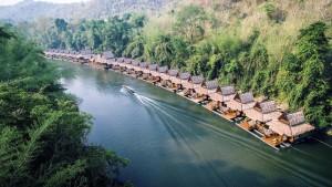 พาครอบครัวไปฟินริมแม่น้ำแควน้อยที่ วังนกแก้ว พาร์ค วิว กาญจนบุรี