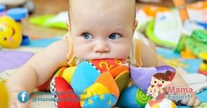 การส่งเสริมพัฒนาการลูกน้อยด้วยการกระตุ้นประสาทสัมผัสทั้ง 5