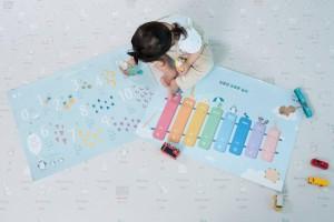 GENALLY ชวนคุณพ่อคุณแม่ยุคใหม่เปิดประสบการณ์ การเรียนรู้ของลูกน้อยกับเสื่อรองคลานเพื่อการเรียนรู้ LIKU by GENALLY จากประเทศเกาหลี