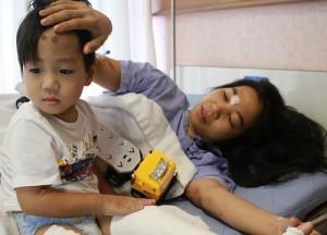 แม่เล่านาทชีวิต  โรงแรมเกาะช้างถล่ม กอดลูกชายไว้กันถูกกำแพงทับ