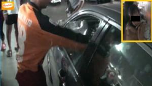 เด็กวัย 1 ขวบติดในรถ 10 นาทีเริ่มอาเจียน แม่ตัดสินใจให้กู้ภัยชลบุรีทุบกระจกเข้าช่วยปลอดภัย