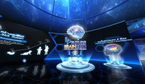 นิทรรศการสมอง VR 360°  ขุมพลังการเรียนรู้ใหม่ในโลกออนไลน์