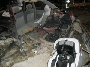 คุณพ่อแชร์ประสบการณ์ : รถคว่ำพร้อมลูกน้อยทั้ง 2 รอดปาฏิหาริย์