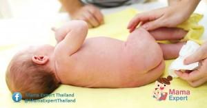 การขับถ่ายของทารกกินนมแม่ ทำไมลูกถ่ายหลากสี มาหาคำตอบกัน !!!