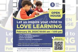 รร.นานาชาติเบซิส กรุงเทพฯ จัดกิจกรรม BASIS Open House สร้างแรงบันดาลใจ ส่งเสริมศักยภาพการเรียนรู้ด้วยตนเอง