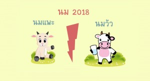 นม2018 นมแพะVSนมวัว นมไหนปังที่นี่มีคำตอบ