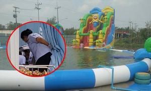 เด็ก 4 ขวบ พลัดจมน้ำขณะลงเล่นสวนน้ำ นำส่ง รพ. แต่ไร้ปาฏิหาริย์