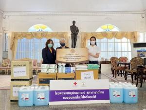 โครงการ Falcon Sharing Café มอบอุปกรณ์ทางการแพทย์ ให้โรงพยาบาลจุฬาลงกรณ์ สภากาชาดไทย