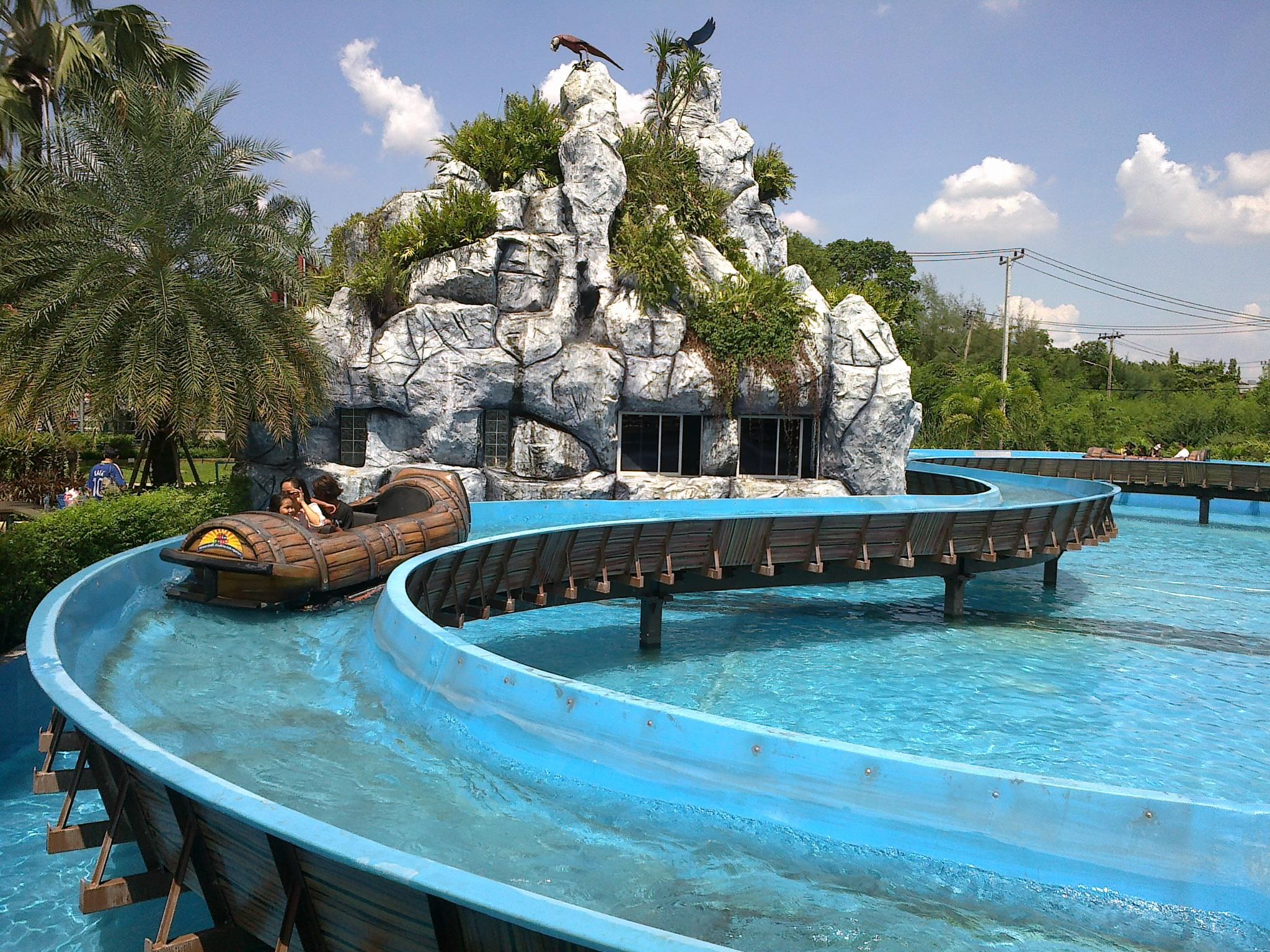 สวนน้ำในไทย สวนน้ำ สยามปาร์ค ซิตี้ (สวนสยามทะเลกรงเทพฯ)