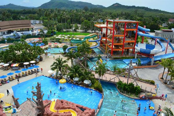 สวนน้ำในไทย สวนน้ำ Splash jungle