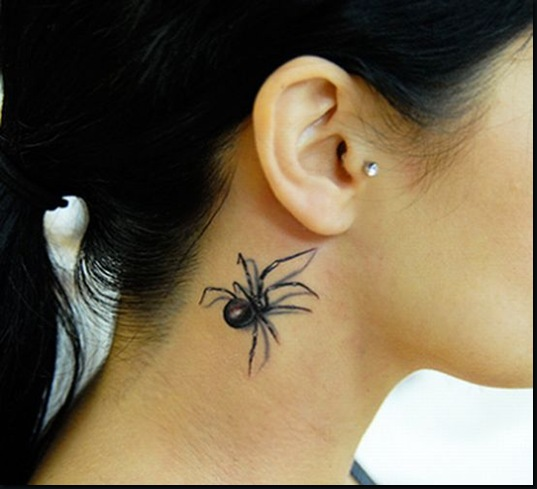 Neck Tattoo Designs For Girls 4