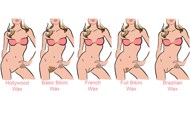 Opinion, false examples of bikini wax styles seems